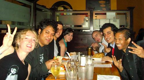 Suzy, Oz, Brett, Alana, Adam, Gary & Bill