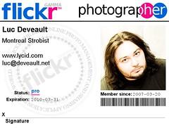 Montreal Strobist Badge (Luc Deveault) Tags: canada fdsflickrtoys quebec qubec luc deveault lucdeveault