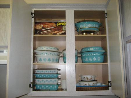 Pyrex Cupboards 3