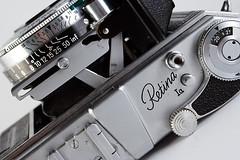 Retina Ia (Rogelio Hernandez) Tags: camera old digital canon vintage 350d xt kodak antigua 350 ia camara 1a schneider retina synchro xenar compur retinaia strobist