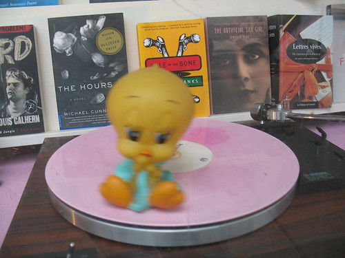 Tweety Goes For A Spin