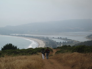 On our way, leaving Stinson Beach behind