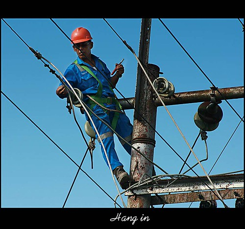 Electrician in High Risk