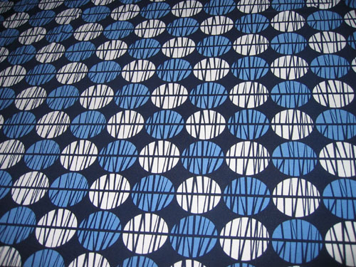 The fabric for my twist top dress.