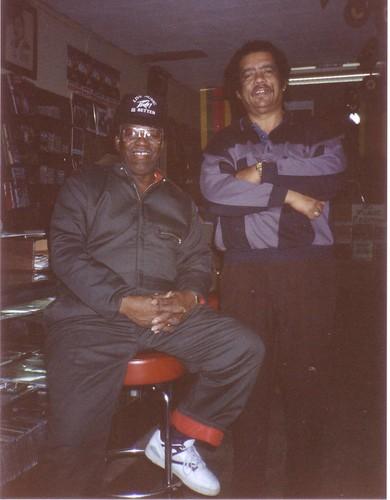 Buddy Stewart & Raful Neal - Baton Rouge, La - Sept 1989