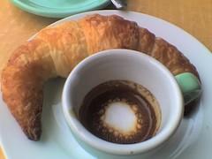 Croissant and Macchiato