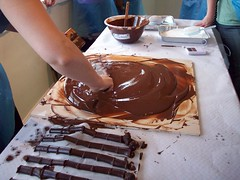 Chocolate everywhere (sannse) Tags: chocolate