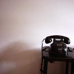 【写真】ミニデジで撮影した前川國男邸の黒電話