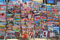 News Stand (RobW_) Tags: news stand july tuesday 2008 zakynthos jul2008 01jul2008