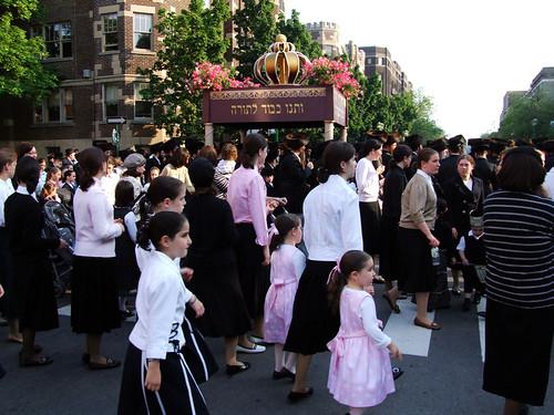 Hasidic procession