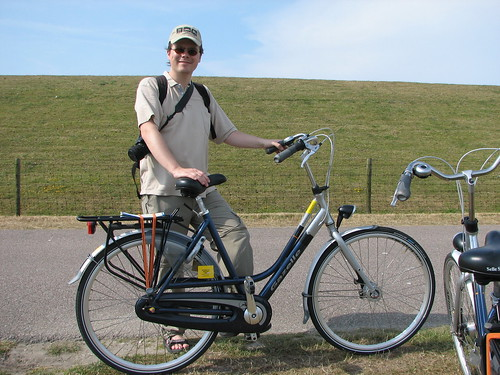 Biking on Texel
