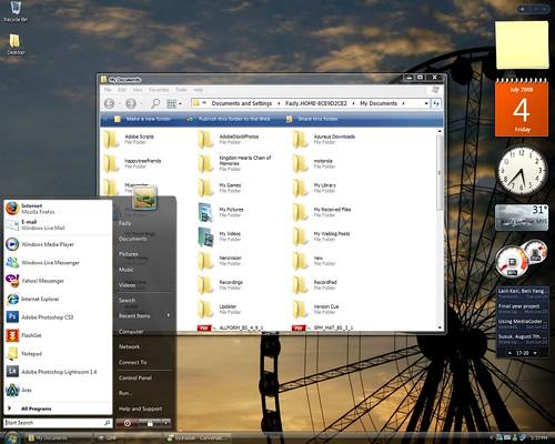 vista desktop themes