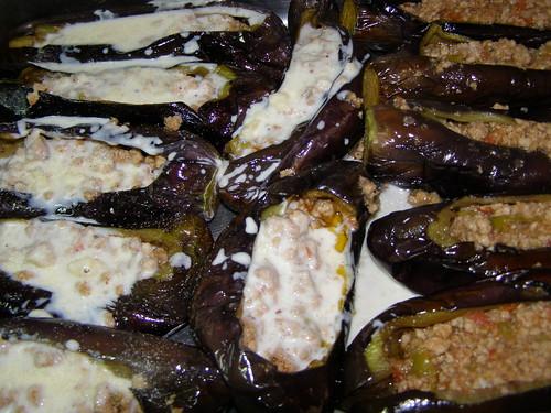 papoutsakia eggplant aubergine