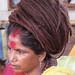 sadhvi with matted hair