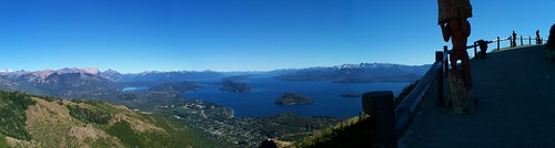 Views from Atop Cerro Otto, Bariloche, Argentina by katiemetz, on Flickr