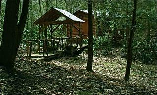 deep woods hot tub