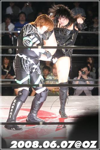 Dynamite Kansai vs 豊田真奈美