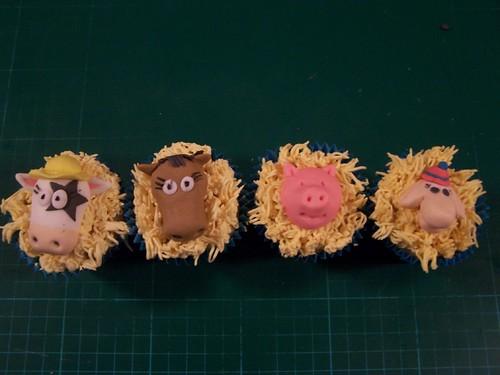 Daisy, Henry, Percy and Shirley from New MacDonalds Farm