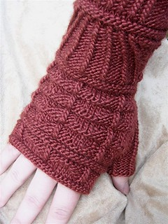 Knitting Pattern Gauntlet Gloves : Ravelry: Gillaspie Gothic Gauntlets pattern by Elizabeth ...