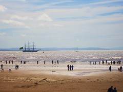 Tall Ships In Crosby (Adam Swindells) Tags: beach crosby tallshipsparade