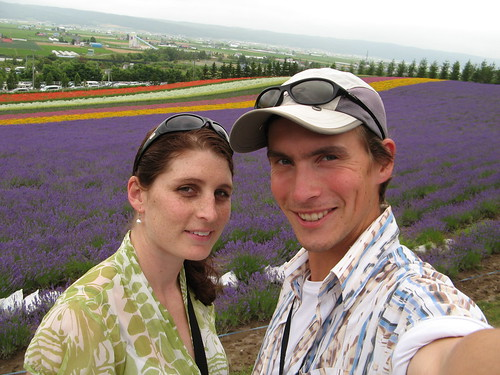 Craig and Tania at Farm Tomita