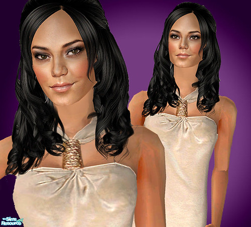 Vanessa Hudgens As A Sim! by Amy Loves Nick :D.