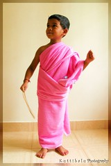 Morning Prayer : Save my Country (Raksh1tha) Tags: pink kids pinktowel funwithkids morningprayer pinklovers kuttibaluphotography savemycountry shaampurushothaman