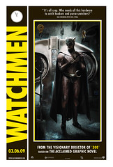 Nite Owl Comic-Con poster (Official Watchmen Photos) Tags: film movie graphicnovel dccomics watchmen alanmoore warnerbros niteowl patrickwilson davegibbons zacksnyder