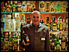 The triumph of the Bacchus (Sator Arepo) Tags: portrait bar hotel reflex bottle drink olympus baileys zuiko aran waiter barman vielha tuca valledearan viella valdaran e500 uro betren 50mmmacroed hoteltuca retofez101102