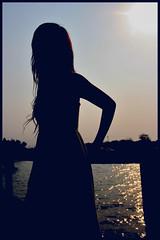Carry me home. (crimson.apple) Tags: girls beach java chacha indonesian sillhouette eastjava indoensia kenjeran crimsonapple