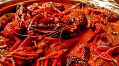 Cangrejos de río en salsa (jaliker) Tags: food rio river recipe comida crab cangrejos receta
