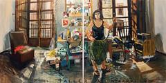 el taller a contrarrel (mariameijide) Tags: santiago classic painting arte kunst realismo pintura desnudo oleo gallego figuracion mariameijide