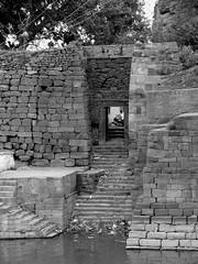 Ghats : Badami (Arun Shah Masood) Tags: lake rock temple fort caves badami chalukya ghats karnatak