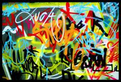 Tags (Jillyreeves) Tags: streetart nikon grafitti vibrant vivid multicoloured tags scarborough northyorkshire steetart d40 kinderland colourartaward