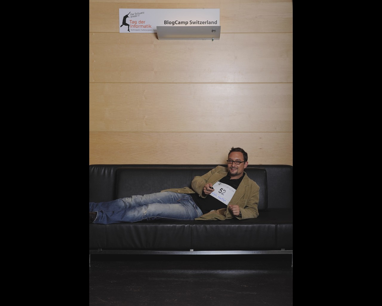 Blog Camp Switzerland 3.0 - Dem Leu sein Sofa.