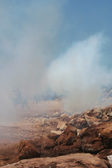 Ni'lin 11/08/08 (emaflickrindaaus) Tags: muro wall palestine gas cs demostration palestina manifestazione magav nilin tergas lacrimogini