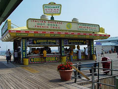 Boardwalk food