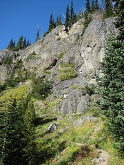 18 - Trail along the cliff wall