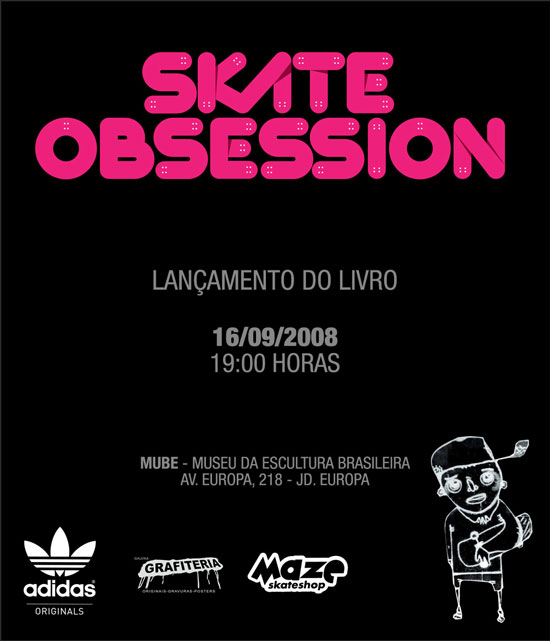 convite Skate Obsession