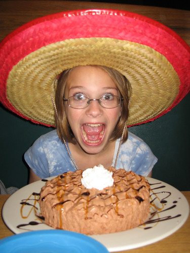 Hacienda cake and sombrero