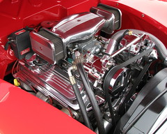 Ford Deluxe Hot Rot Engine - That Air Blower is Unreal! (trail trekker) Tags: ford classiccars hotrods customcars classicford classiccarshow fordengine hotrodengine fordhotrods fordhotrodengines customhotrodengines