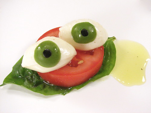 Eyeball Caprese by Evil Mad Scientist Laboratories