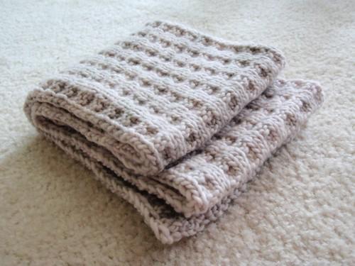 Malabrigo waffles scarf
