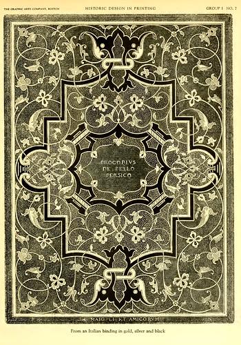 01-Cubierta frontal italiana en oro, plata y negro