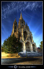 The church of Our Lady, Laken, Brussels, Belgium :: HDR - Onze Lieve Vrouwe Kerk van Laken (Erroba) Tags: street blue brussels sky sunlight tree church clouds photoshop canon rebel belgium belgique tripod gothic belgi bruxelles sigma tips remote lantern 1020mm erlend brussel kerk hdr laken onzelievevrouwekerk ourlady cs3 olvkerk 3xp photomatix tonemapped tonemapping xti 400d specialtouch erroba robaye erlendrobaye alemdagqualityonlyclub