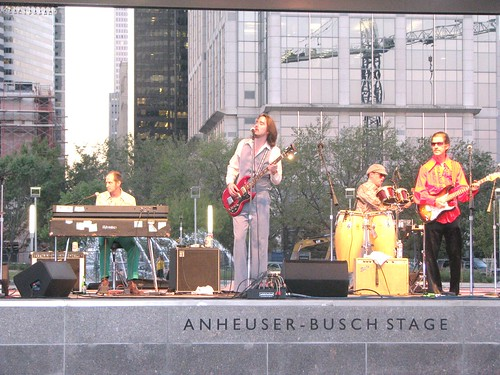 Light Rock Express plays Discovery Green.