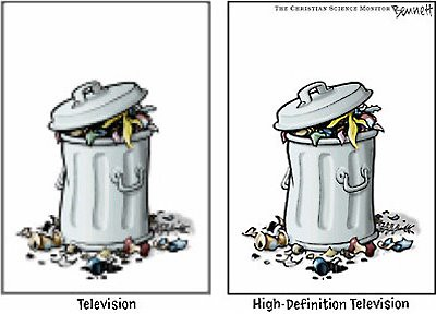 tv is...