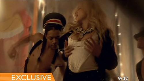 Britney Spears Circus pecho