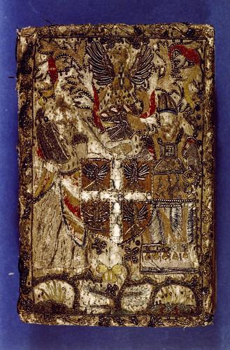 004- Biblia- Bordado Heráldico diversos materiales- siglo XVII