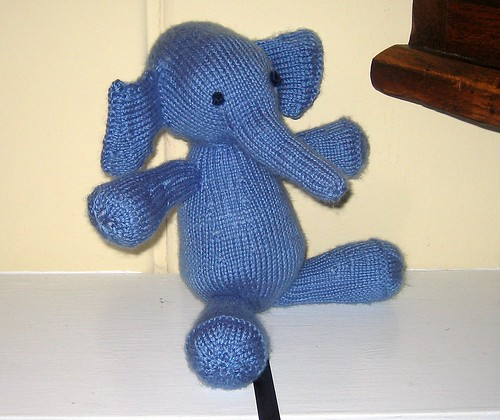 "The elephant toy named ""Mrs. P."""
